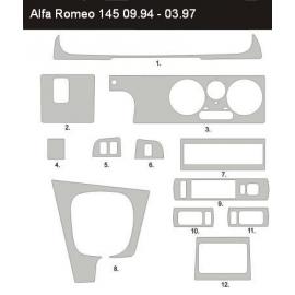 Dekor interiéru Alfa Romeo 145 1994-2001