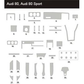 Dekor interiéru Audi 80 B3 1986-1991