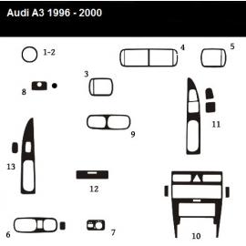Dekor interiéru Audi A3 8L CLIMATRONIC 1996-2000