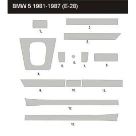 Dekor interiéru BMW E28 1980-1988