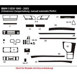 Dekor interiéru BMW E39 1995-2003