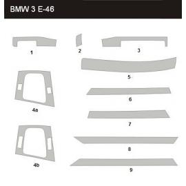 Dekor interiéru BMW E46 1998-2007 Sedan/Touring