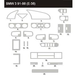 Dekor interiéru BMW E36 1990-2000 Sedan/Touring