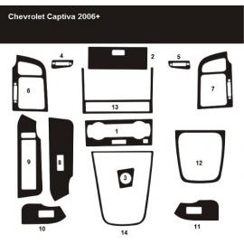 Dekor interiéru Chevrolet Captiva 2006-