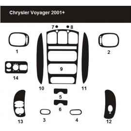 Dekor interiéru Chrysler Voyager 2001-