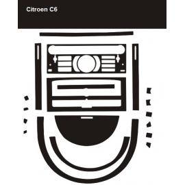 Dekor interiéru Citroen C6 2005-