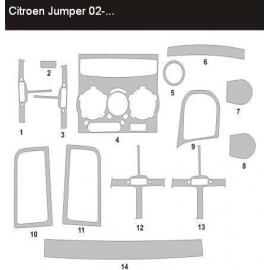 Dekor interiéru Citroen Jumper 2002-2006
