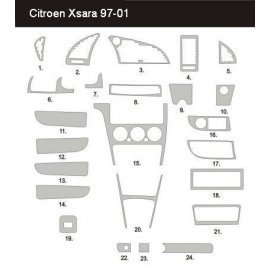 Dekor interiéru Citroen Xsara Picasso 1999-2004