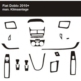 Dekor interiéru Fiat Doblo 2010-
