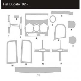 Dekor interiéru Fiat Ducato 2002-2006