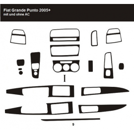 Dekor interiéru Fiat Grande Punto 2005-