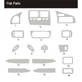 Dekor interiéru Fiat Palio 1998-2002
