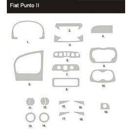 Dekor interiéru Fiat Punto II 2000-2002