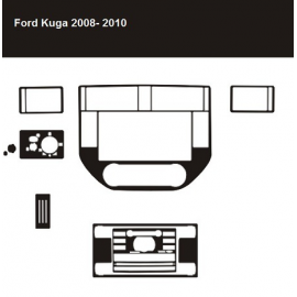 Dekor interiéru Ford Kuga CLIMATRONIC 2008-