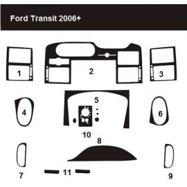 Dekor interiéru Ford Transit 2006-