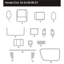 Dekor interiéru Honda Civic VI 1995-2001