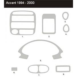Dekor interiéru Hyundai Accent 1994-2000