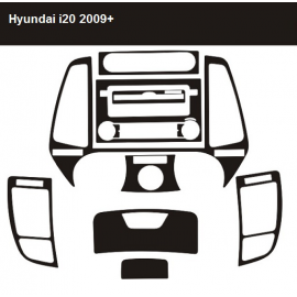Dekor interiéru Hyundai i20 2009-
