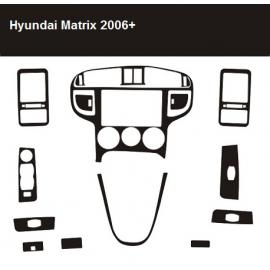 Dekor interiéru Hyundai Matrix 2006-