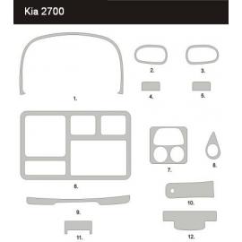 Dekor interiéru KIA K2700