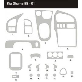 Dekor interiéru KIA Shuma 1998-2001