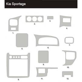 Dekor interiéru KIA Sportage 1999-2002