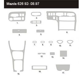 Dekor interiéru Mazda 626 1992-1997