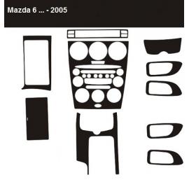 Dekor interiéru Mazda 6 Automatic 2005-2008