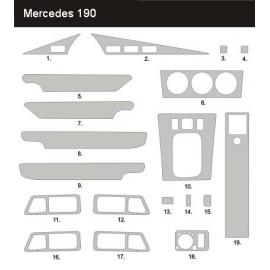 Dekor interiéru Mercedes 190 W201 1983-1993