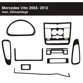 Dekor interiéru Mercedes Vito W639 2003-2012