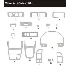 Dekor interiéru Mitsubishi Galant 1996-2003