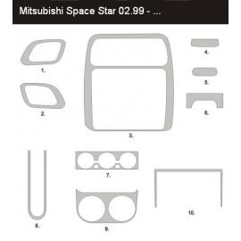 Dekor interiéru Mitsubishi Space Star 1998-2002