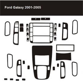 Dekor interiéru Ford Galaxy 2001-2005