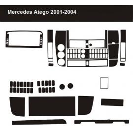 Dekor interiéru Mercedes Atego 2001-2004