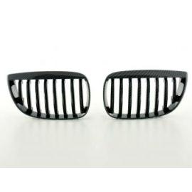 FK přední maska, ledvinky BMW 1er Typ E87 r.v. 05- Carbon Look