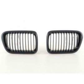 FK přední maska, ledvinky BMW 3er Typ E36 r.v. 96-98 Carbon Look