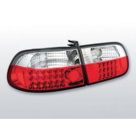 Zadní světla LedkovéHONDA CIVIC 09.91-08.95 3D RED WHITE LED