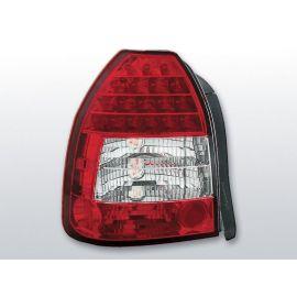 Zadní světla LedkovéHONDA CIVIC 09.95-02.01 3D RED WHITE LED
