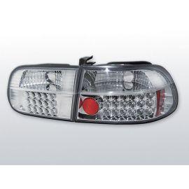 Zadní světla LedkovéHONDA CIVIC 09.91-08.95 3D CHROM LED