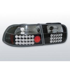 Zadní světla LedkovéHONDA CIVIC 09.91-08.95 3D BLACK LED