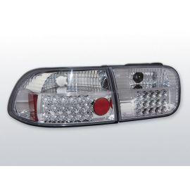 Zadní světla LedkovéHONDA CIVIC 09.91-08.95 2D/4D CHROM LED