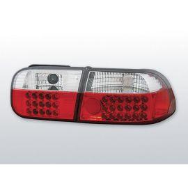 Zadní světla LedkovéHONDA CIVIC 09.91-08.95 2D/4D RED WHITE LED