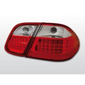 Zadní světla LedkovéMERCEDES W208 CLK 03.97-04.02 RED WHITE LED