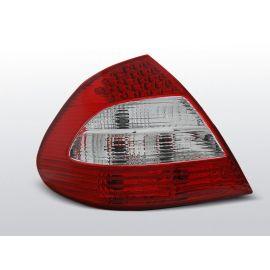Zadní světla LedkovéMERCEDES W211 E-KLASA 03.02-04.06 RED WHITE LED