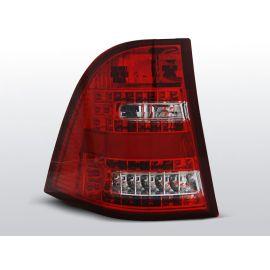 Zadní světla LedkovéMERCEDES W163 ML M-KLASA 03.98- 05 RED WHITE LED