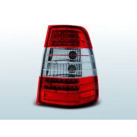 Zadní světla LedkovéMERCEDES W124 E-KLASA KOMBI 09.85-95 RED WHITE LED