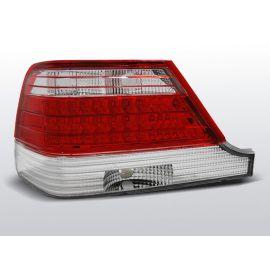 Zadní světla LedkovéMERCEDES W140 95-10.98 RED WHITE LED
