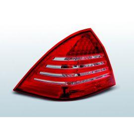 Zadní světla LedkovéMERCEDES C-KLASA W203 SEDAN 00-04 RED WHITE LED