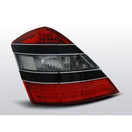 Zadní světla LedkovéMERCEDES W221 S-KLASA 05-09 RED SMOKE BLACK LED
