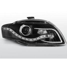 Přední světlaAUDI A4 B7 11.04-03.08 DAYLIGHT BLACK